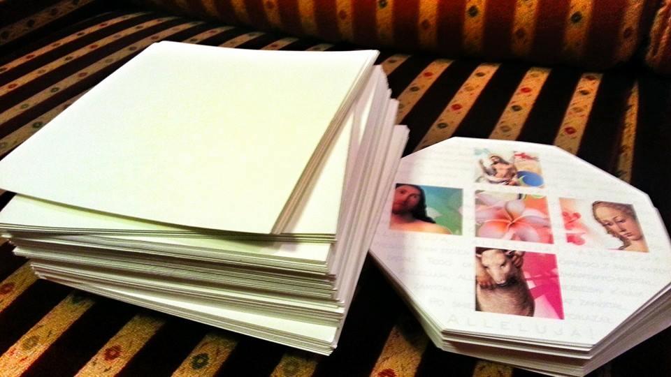 Kartki czekają na wypisanie :)