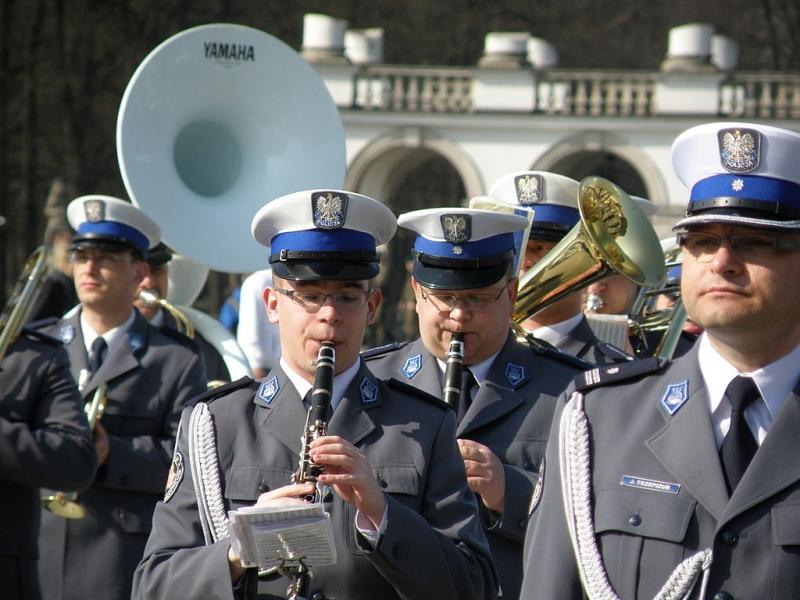 Policyjni muzykanci z Orkiestry Reprezentacyjnej źródło: Photo credit: Foter / CC BY-SA